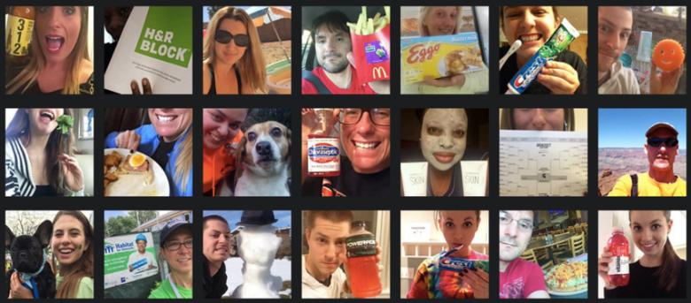 Imagen: Pay Your Selfie